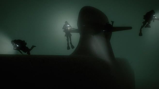 Zweden onder water fluisterstil