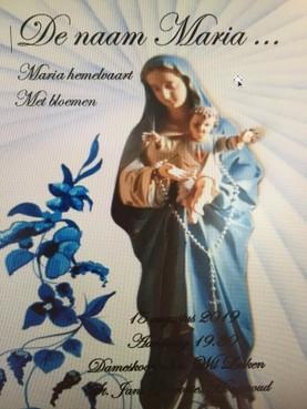 Mariaviering in Hoogwoud is geliefd