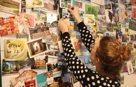 Eerder stroomden de ansichtkaart al binnen op de redactie als steun aan Leidsch Dagblad