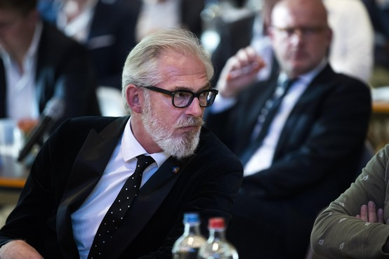 Telstar-directeur Pieter de Waard houdt mond over vertrek technisch directeur: 'Dat zeg ik zelf wel tegen Buter'