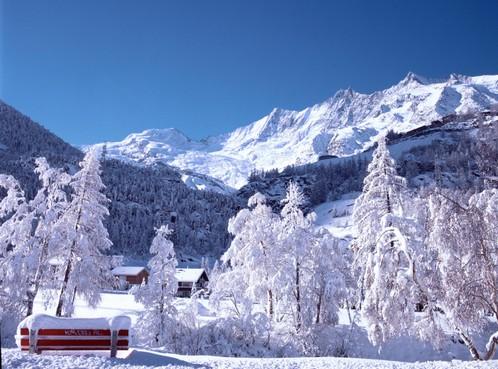 De sneeuw in Saas-Fee is 'schön griffig'