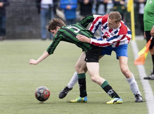 VVH/Velserbroek ontloopt nacompetitie door doelpuntloos gelijkspel