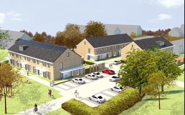 Nieuwe woningen op plek van Heemskerkse De Maere in vorm van woonhof