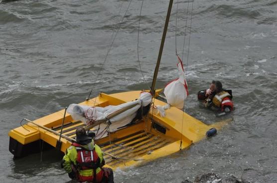 'Vermiste' catamaranzeiler meldt zich