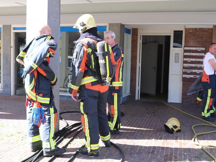 Politie onderzoekt opzet bij brand in Lisse