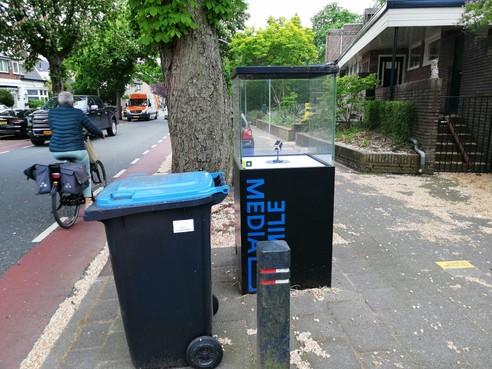 Opinie: Pak het leegruimen van de Media Mile aan om een pop-up expositie te starten bij station Hilversum