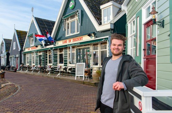 Melvin de Groot (Marken) maakt seizoen van slechts een kwartiertje: 'Ik heb gewoon dikke pech gehad'