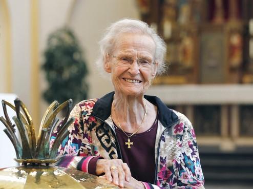 Overleden zuster Lies van der Voort (1924-2019) van de RK Christoforusparochie in Schagen had voor iedereen een luisterend oor