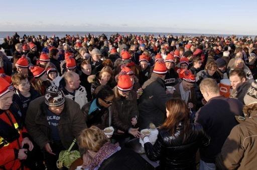 Vijf nieuwjaarsduiken in de regio West-Friesland