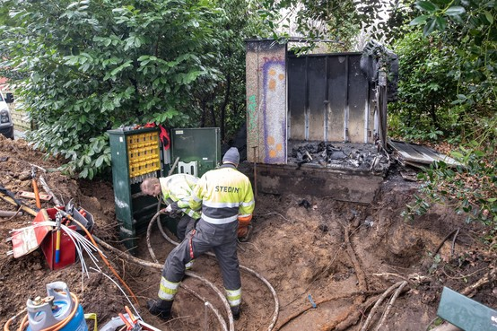 Lange nasleep brand Soester stroomhuisje