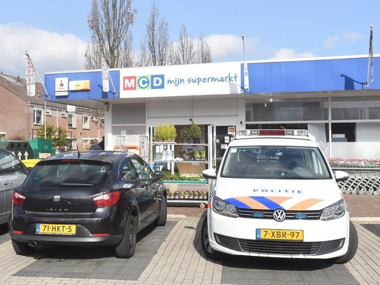 Kassagreep bij supermarkt in Zoeterwoude