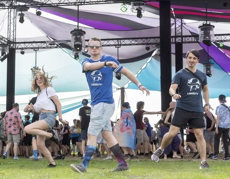 Eenzame skanker komt van verre voor Liquicity Festival