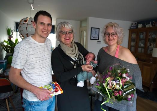 Baby Kik is 155.000ste inwoner van Zaanstad