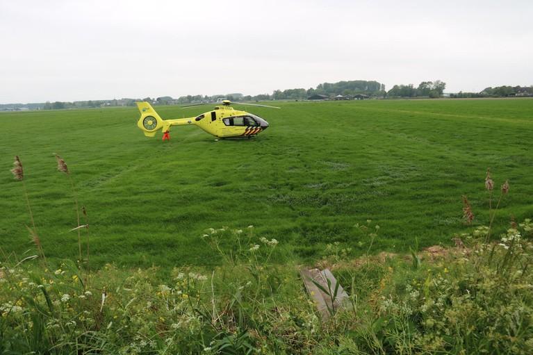 Voetganger zwaargewond bij aanrijding in Nederhorst den Berg