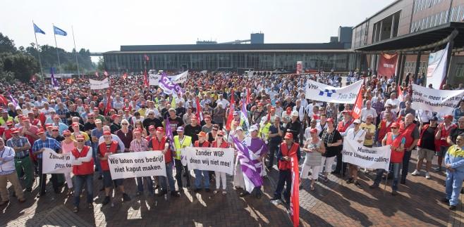 FNV en ondernemingsraad willen manifestatie bij Tata Steel