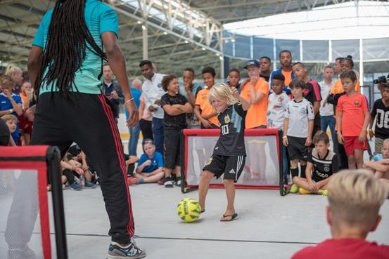 Sportcentrum Hoorn wordt eind augustus omgetoverd in een voetbalwalhalla