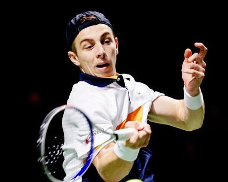 Venneper Griekspoor weer snel klaar op Roland Garros
