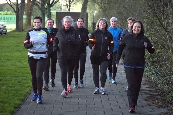 Flink doorstappen met de powerwalkingclub Haarlem
