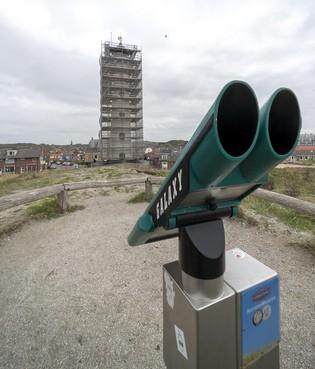 Chroom-6 aangetroffen op vuurtoren Van Speijk in Egmond aan Zee