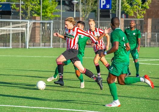 Hollandia laat leuke dingen zien in oefenduel met AFC