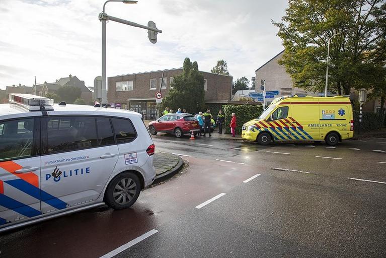 Oldtimer betrokken bij ongeval in Bennebroek; inzittende gewond