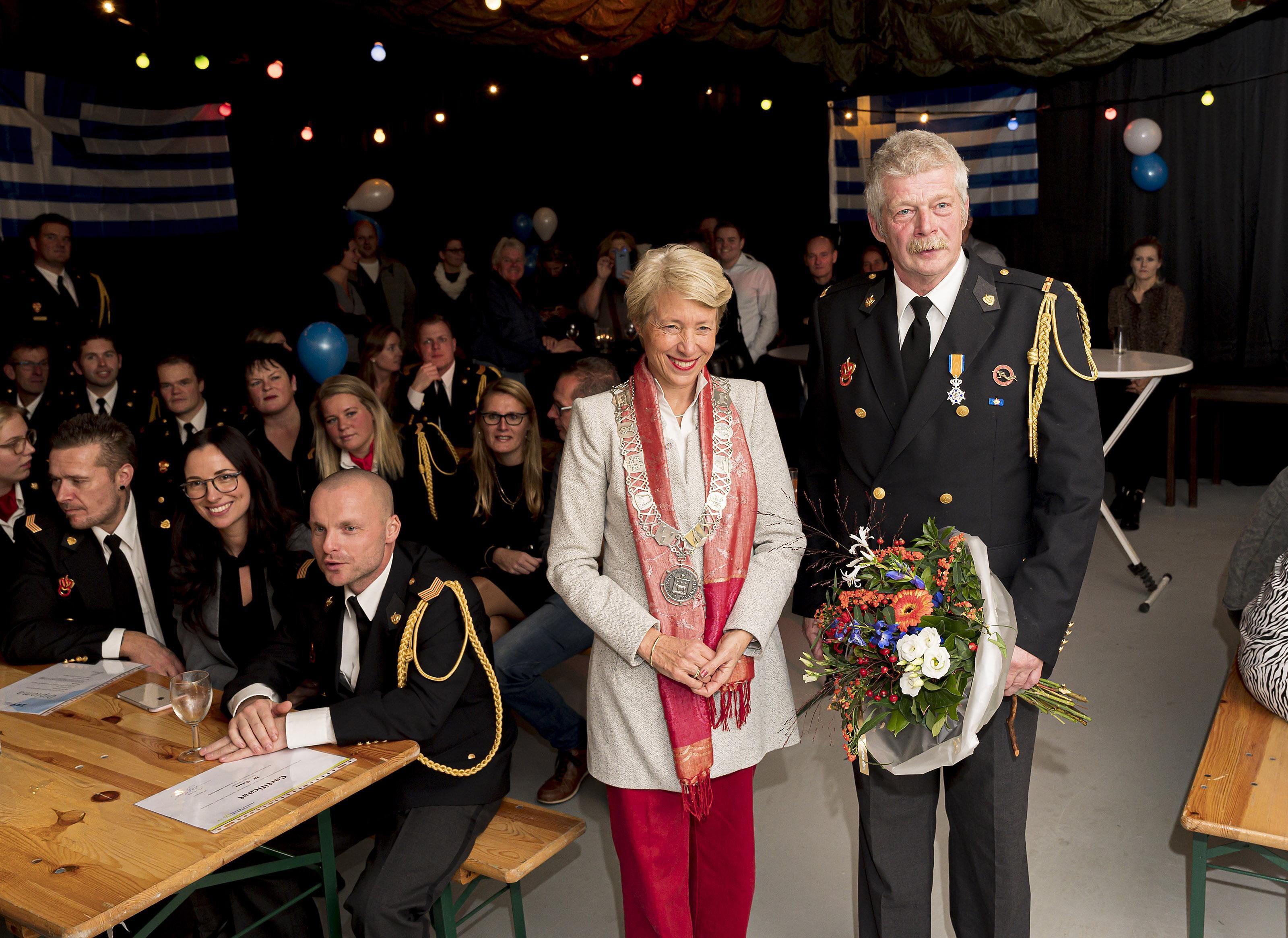 Onderscheiding voor brandweerman Kwadijk - Noordhollands Dagblad