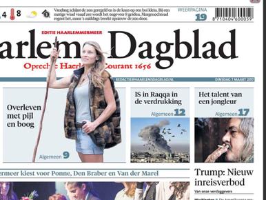 'Gemeenteraad Haarlemmermeer, geef burgers proefabonnement op Haarlems Dagblad'