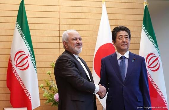 Japanse premier Abe op bezoek in Iran