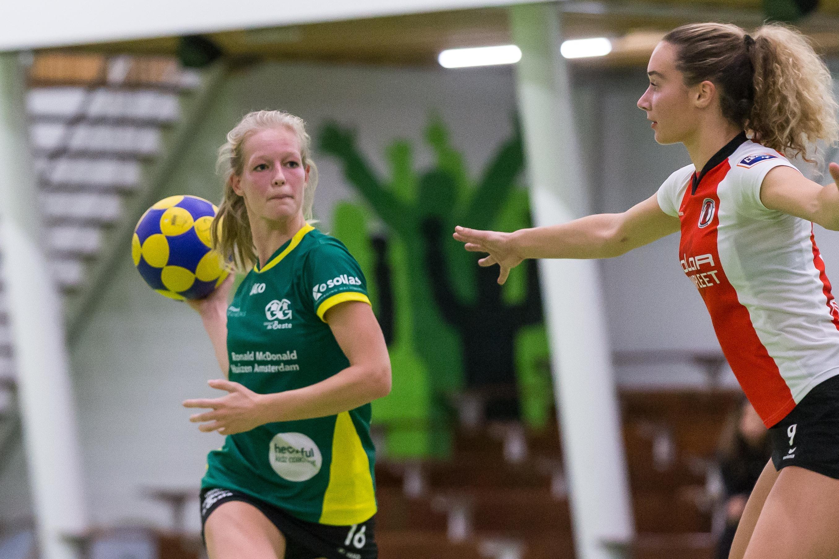 Fenna Jagtman verkast van TOP naar Groen-Geel om te kunnen spelen in de Korfbal League - Leidsch Dagblad