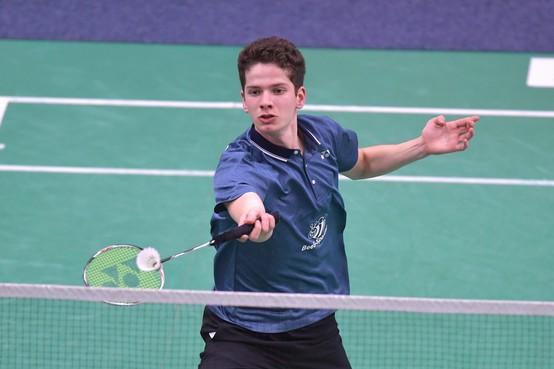 Badmintonner Ties van der Lecq uit Heiloo Nederlands kampioen met Duinwijck: 'Ik heb zeker mijn steentje bijgedragen'