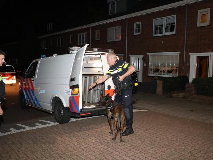Politie zoekt tevergeefs naar betrapte inbreker in Haarlem