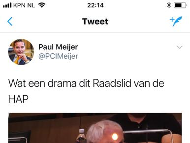 Gemeenteraad Haarlemmermeer veroordeelt tweet raadslid [video]