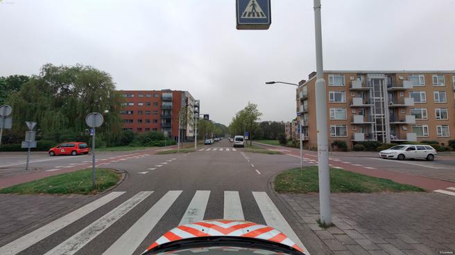 Het gevaarlijkste kruispunt van Leiden