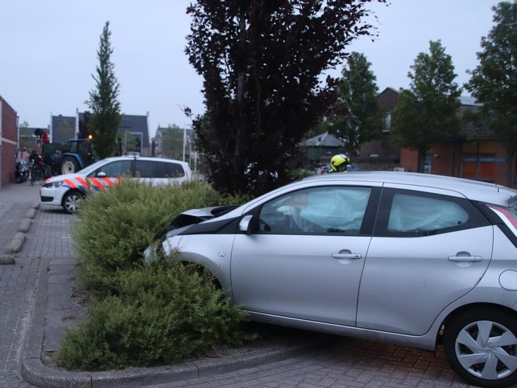 Beschonken vrouw eindigt in bosjes in Voorhout