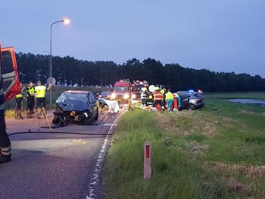 Massale inzet hulpdiensten bij ernstig ongeluk Berkhout