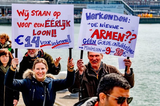 FNV: Nederlander wil hoger minimumloon