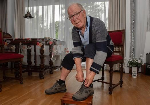 Purmerender Joop van de Paverd (92) gaat voor veertigste Vierdaagse-speldje