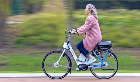 Slimme fiets blijft overeind