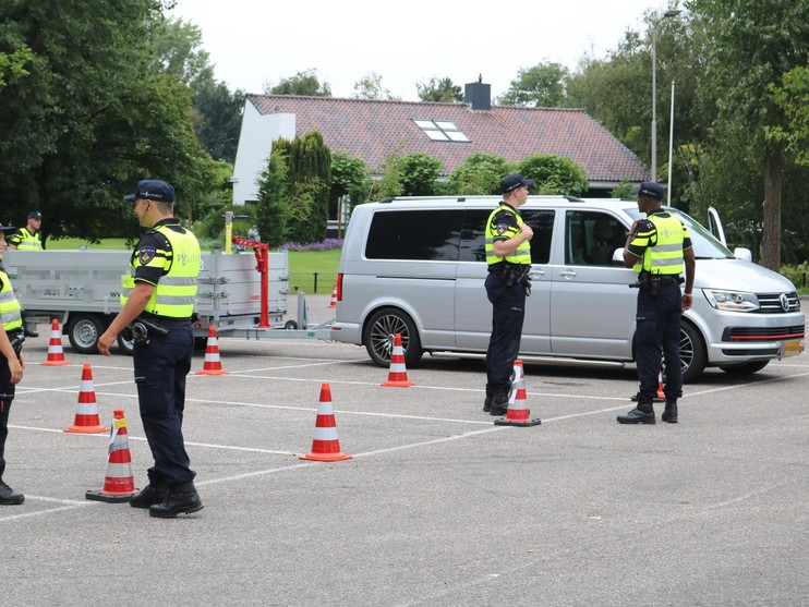 Drugsrijders gepakt bij verkeerscontrole Rijnsburg