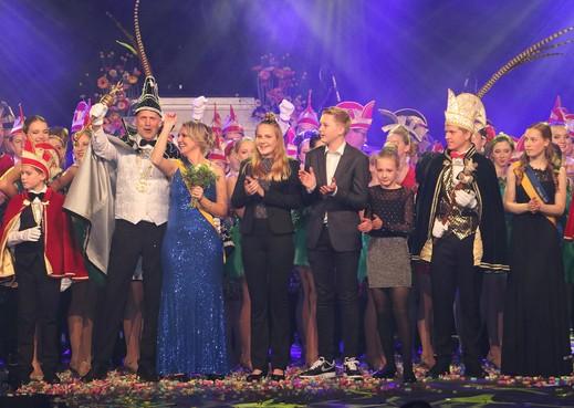 Prins ConfetSchie en Prinses Power regeren over Kokkerhout