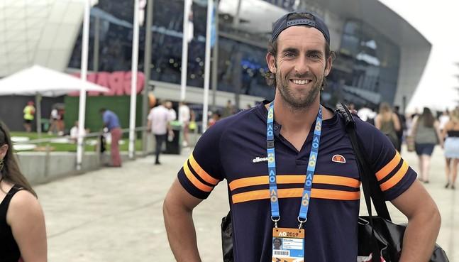 Tenniscoach debuteert op grand slam met Laarder Christian Lerby