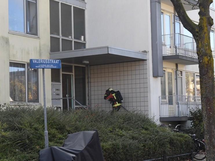 Man aangehouden na brand in kelderbox Leiden