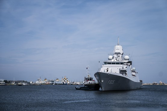 Marine lost hinder Russen in Zwarte Zee hoffelijk op