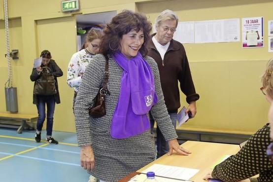 Léonie Sazias klaar voor Tweede Kamer