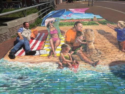 Leuke-ideeënwedstrijd Den Helder sneuvelt bij bezuinigingen; springplank 3D-streetart