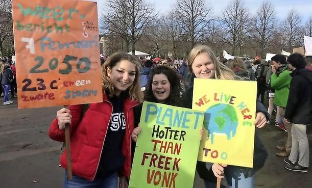 Docenten en Teachers for Climate steunen scholieren tijdens nieuwe spijbelactie voor beter klimaat