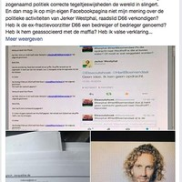Voorbeeld van een bericht over Jerker Westphal op Facebook Elswoutshoek.