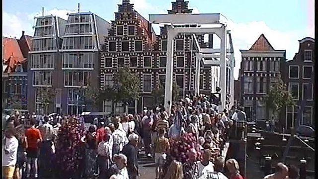 Bewegend Verleden: Biervatenrace in Haarlem, 1997 [video]