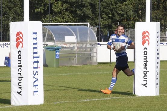 Rugby: Hilversum haalt uit bij The Dukes en behoudt kopplek in kampioenspoule ereklasse