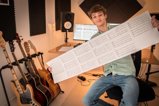 Heilooënaar David Kolder wint internatioanle wedstrijd met muziekcompositie